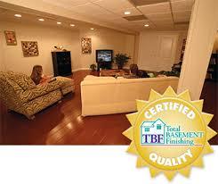basement finishing system by total basement finishing