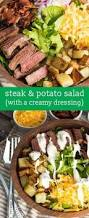 creamy bacon studded potato salad takes a walk on the sharp and