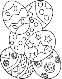 easter coloring pages kids happy easter
