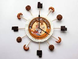 horloge cuisine originale pendule pour cuisine originale stickoo