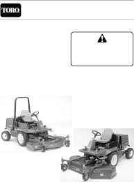 toro lawn mower 3000d user guide manualsonline com