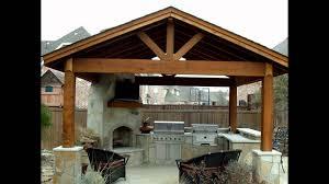 backyard kitchen youtube