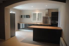 Cuisine Grise Laquee by Indogate Com Idees Chambre Familiale Cuisine Moderne