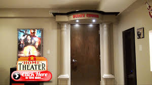 How To Decorate Home Theater Room How To Build The Ultimate Home Theater Entrance The Burke Home