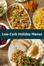 how to put together a low carb thanksgiving traditional