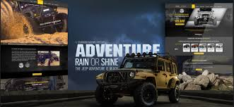 starwood custom jeep web design advertising avenue