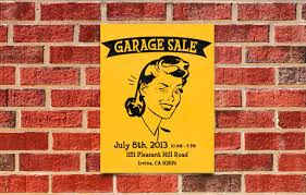 how to make a garage sale flyer printaholic com