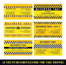 sample business card templates free download set of yellow taxi business card templates vector image 17186 set of yellow taxi business card templates click to zoom