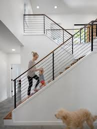 Banister Railing Home Depot Stairs Astounding Staircase Rails Indoor Stair Railings Metal