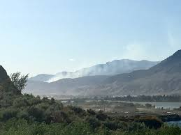 Wildfire Map Kamloops by Update Out Of Control Fire West Of Kamloops Is Now 260 Hectares