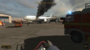 airport firefighter simulator 2015 cabin fire youtube