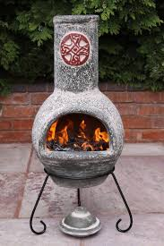 Chiminea Vs Fire Pit by Garden Treasures Mexican Chiminea Fire Pit Garden Landscape