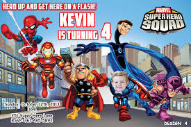 marvel superhero party invitations disneyforever hd invitation
