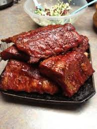Country Style Ribs On Traeger - ribs done on traeger smoker food cooked on traeger smoker grill