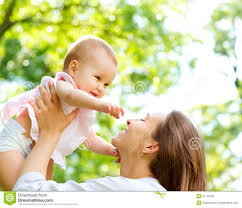 mother and baby outdoor stock image image 31149431