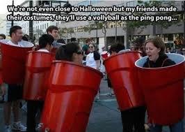 Meme Costume Ideas - 55 beer pong halloween costume last minute halloween costumes a