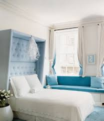 White And Blue Modern Bedroom Modern Bedroom With Light Blue And White Idea For Calming Design