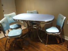 Midcentury Chrome Kitchen Tables And Chairs Google Search
