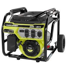 home depot ryobi black friday ryobi 5 500 watt gasoline powered portable generator ry905500