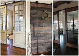 Barn Door Interior Sliding Barn Door Ideas To Get The Fixer Look