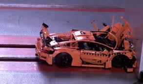 lego porsche mesmerizing lego porsche 911 gt3 rs crash test hsvsingles info