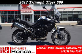 used 2012 triumph tiger 800 abs in bathurst used inventory