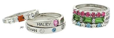 stackable mothers rings with names stacking mothers rings stackable rings