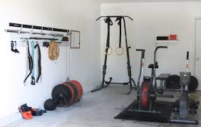 Gym Flooring For Garage by 5 Easy Steps For Turning Your Garage Into A Gym Growing Up Bilingual