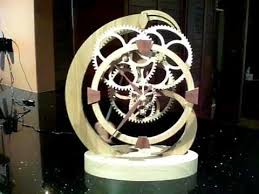 7 Free Wooden Gear Clock Plans by 82 Best Wooden Gears Clocks U0026 Kinetic Sculptures Images On