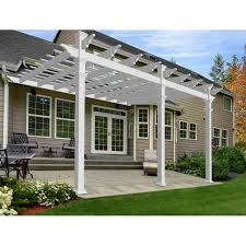 Louvered Roof Pergola by Outdoor Structures Costco
