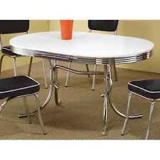 50 s kitchen table and chairs retro dining table vintage 50 s mid century modern style chrome