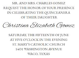 quinceanera invitation wording quinceanera invitations wording exles complete guide
