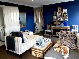 Royal Blue Bedroom Ideas by Black White Royal Blue Living Room Centerfieldbar Com