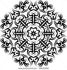 tribal tattoo design vector art stock vector 519320725 shutterstock