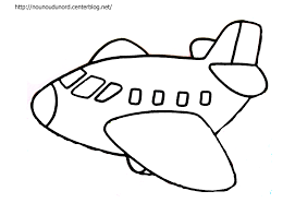 121 dessins de coloriage avion à imprimer