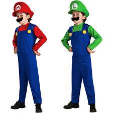 Walmart Kids Halloween Costumes Mario U0026 Luigi Child Halloween Costumes Walmart Savvybuyingmom