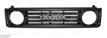 si e social lcl 53101 60050 front grille front grill toyota landcruiser