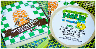 teenage mutant ninja turtle inspired birthday party deliciously