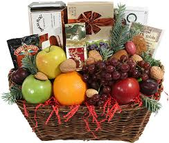 christmas fruit baskets delivery of gourmet gift basket to são paulo