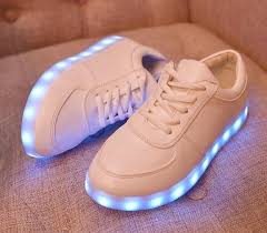 light up tennis shoes for led shoes light up led trainers sneakers luminous unisex flashing