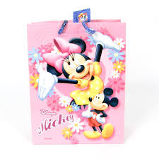 mickey mouse gift bags pink gift bag mickey minnie mouse baby n toddler