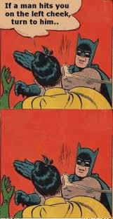 Batman And Robin Slap Meme - colouring in sheets lego man batman robin slap
