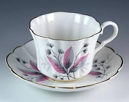 vintage bone china english castle staffordshire tea cup u0026 saucer