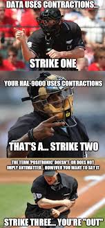 Funny Softball Memes - it s 1 2 3 strikes you re out in the old meme game