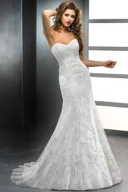 loving dresses pretty sweetheart trumpet wedding gown with detachable sash usd
