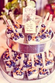 book brunch baby shower food fruit parfaits custom