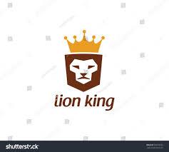 lion king template lion king logo vector template stock vector 582578752 shutterstock