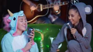 fans hope ariana grande u0026 miley cyrus perform this song during
