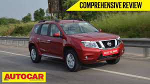 nissan terrano india interior nissan terrano comprehensive review autocar india youtube