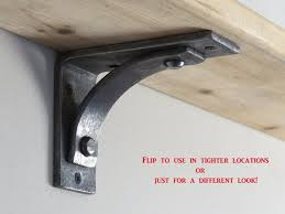 How To Build Wooden Shelf Supports by Best 25 Floating Shelf Brackets Ideas On Pinterest Invisible